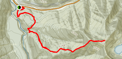 Mount Furlong Trail Map