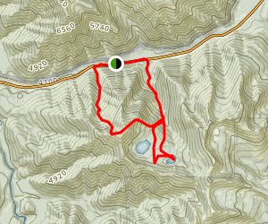 The Tranquil Basin Overlook Map