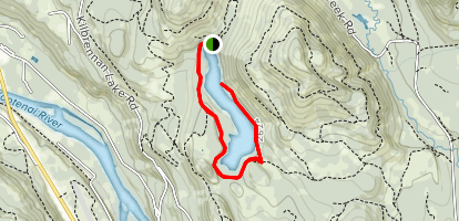 Alvord Lake Trail Map