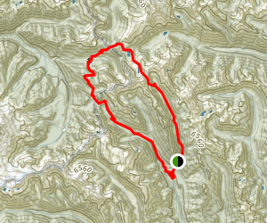 Spider Gap - Buck Creek Pass Loop Map