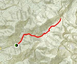 Little Boulder Trail Map