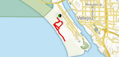 Mare Island San Pablo Bay Trail Map