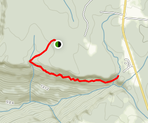 Denny Cove Waterfall Trail  Map