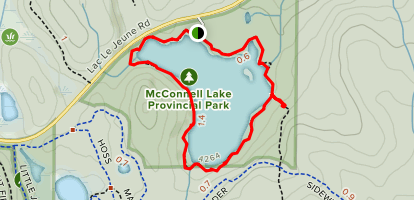 McConnell Lake Trail Map