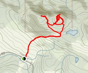 Mount Buse Trail Map