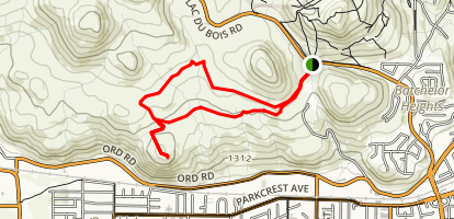 Quarry to Beacon Hill Map