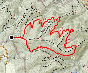 Wildwood Loop Trail Map