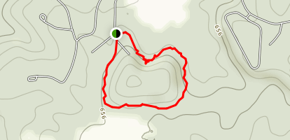 Round Bluff Trail Map