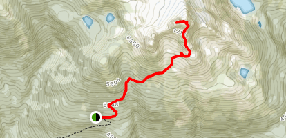 Eagle Mountain Pass Trail Map