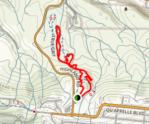 True Grit Loop Trail Map