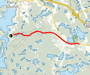 Rose Point Recreational Trail Map