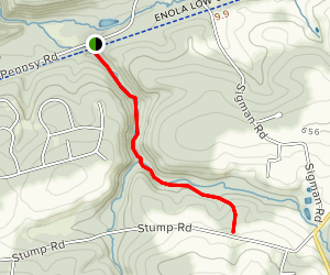 Trout Run Trail Map