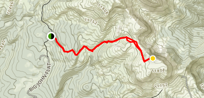 Mount Holly Trail Map