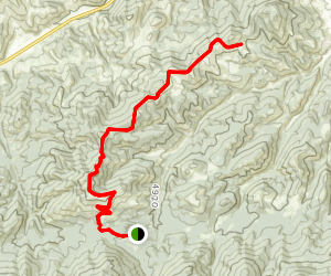Mount Helena Ridge Trail Map