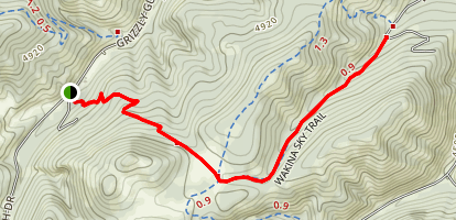 Wakina Sky Trail Map