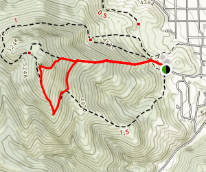 Hogback Trail Map