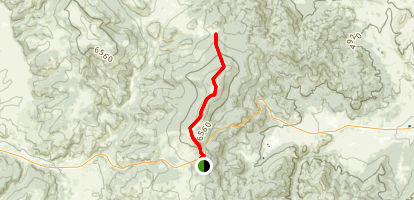 MacDonald Pass to Priest Pass Via Continental Divide Trail Map