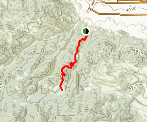 Rodney Ridge Trail Map