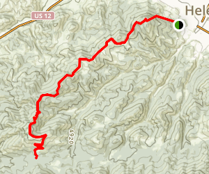 Mount Helena National Recreation Trail Map