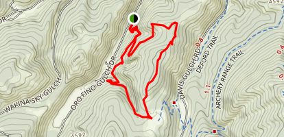 Waterline Trail Loop Map