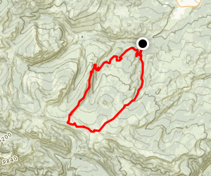 Yellowmule Loop Map