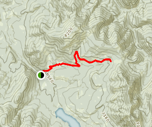 Lick Creek Hike Map