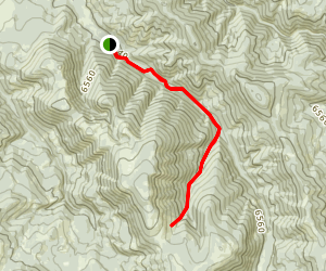 Wheeler Gulch Trail Map