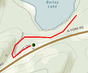 Bailey Lake Map