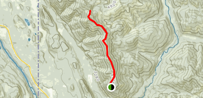 Tepee Mountain Trail Map