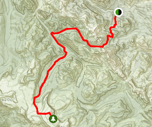 Scapegoat Mountain Map
