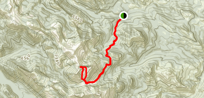Crown Mountain Trail Map