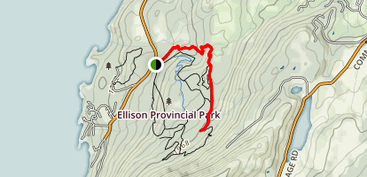 Blister's Sister Trail Map