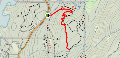 Space Between Trail Map
