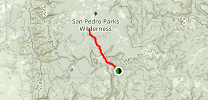 Palomas Trail Map
