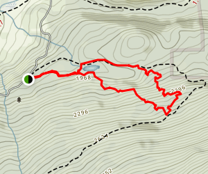 Pond Loop, 36DD, Twista Loop Trail Map