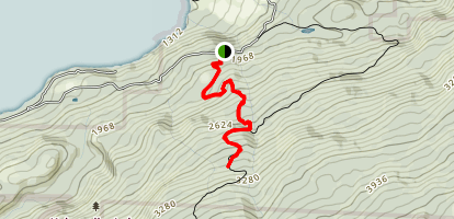 Twisted Sisters Trail Map