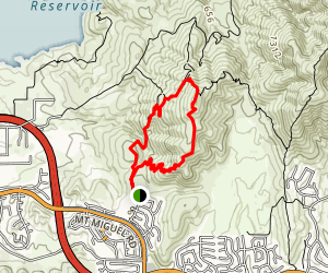 Mother Miguel Mountain Loop Map
