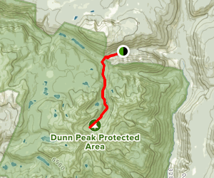 Dunn Peak Map