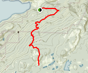 Upper Kal Park Trail- High Rim Map