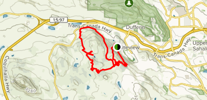 Hugh Allen Trail Map