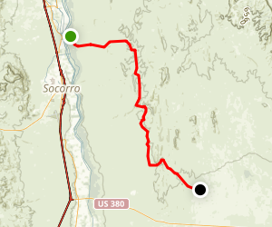 Quebradas Back Country Byway Map