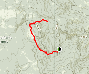 Redonda Trail Map