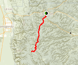 Sunspot Scenic Byway Map