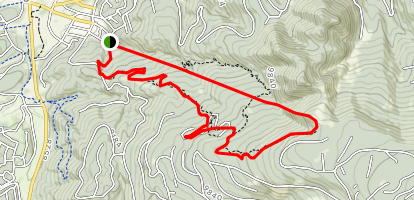 Free Flight Ski Trail Map