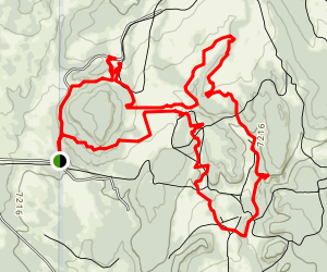 Glorieta Mesa Trail Map