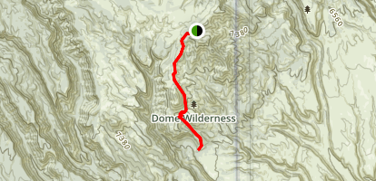 Saint Peters Dome Trail Map