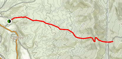 Sierra Mosca Trail Map
