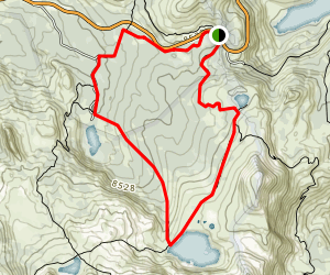 Winnemucca Lake Loop Map