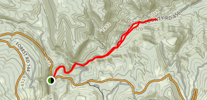 San Lorenzo Trail Map