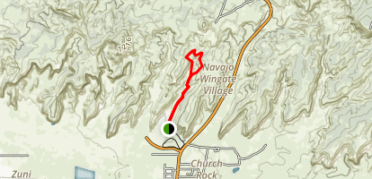 Red Rock Canyon Loop Map